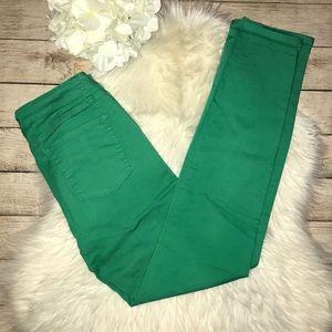 Prana Kara Green Organic Cotton Skinny Jeans